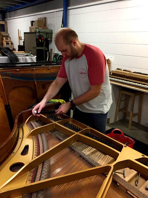 Josh Lord Lincoln Piano Centre